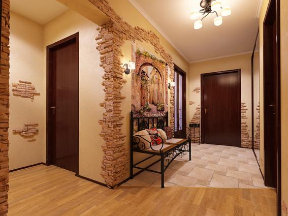 Ремонт коридора в частном доме